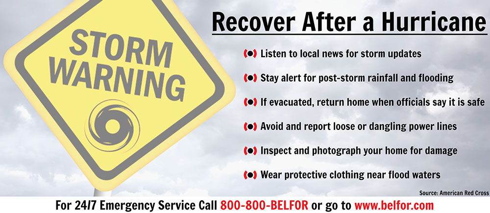 BELFOR is Responding to Hurricane Barry Damage - Steps To Recover After A Hurricane