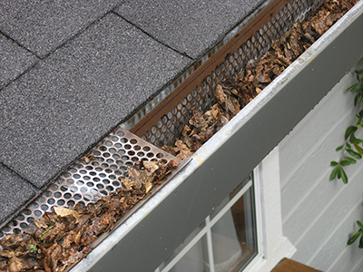 Gutter Guards can help protect your gutters from frequent clogging