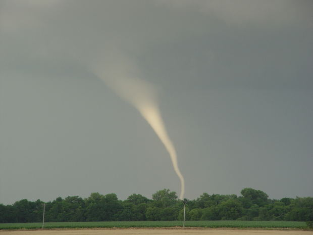 Photograph of Tornado Forming