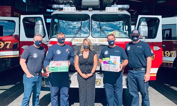 National First Responders Day AZ Phoenix Fire Station 55