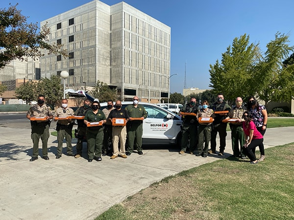 National First Responders Day CA Fresno County Sheriffs Department