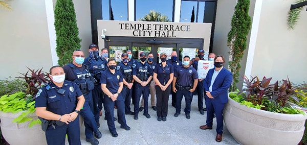 National First Responders Day FL Temple Terrace Police and Fire Department